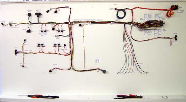 Outstanding Nail Board Wire Harness Wiring Diagram Wiring Database Gramgelartorg